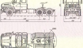 Седельный тягач Урал NEXT 7470-5511-01 6×4 full
